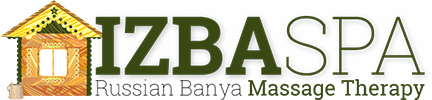 Izba Spa: Russian Banya Massage Therapy Logo
